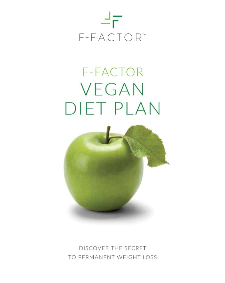 f factor vegan diet plan e book